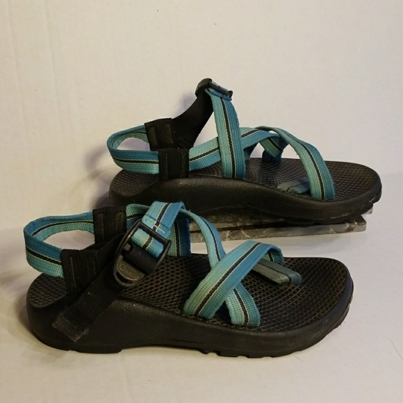 8c4943279e1a Chaco Shoes - Chaco sandals women s blue color size 5
